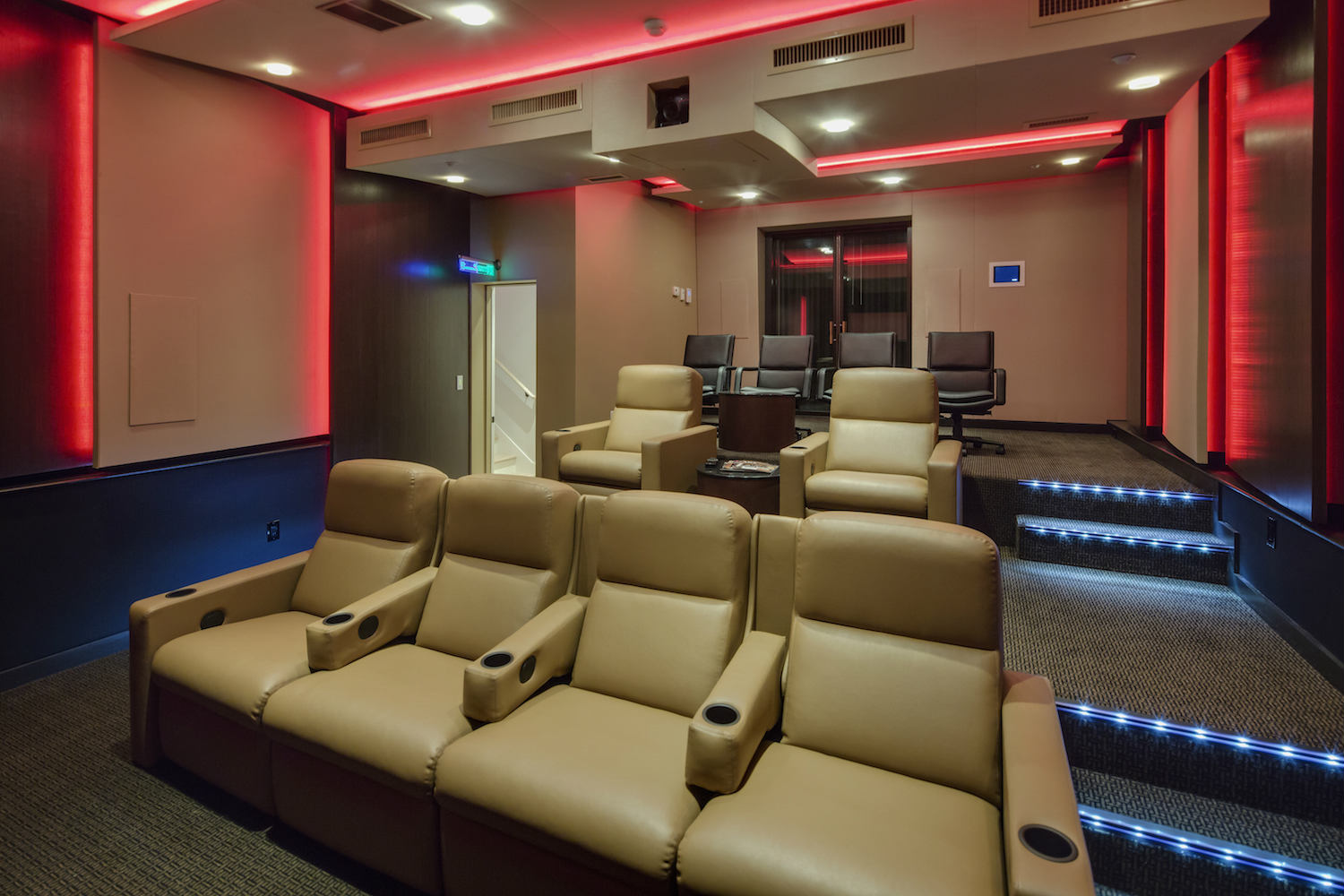 The MacPhails met WSDG to achieve a full up, professionally designed, acoustically superlative residential recording studio for their thriving audio production business. Home Theater.