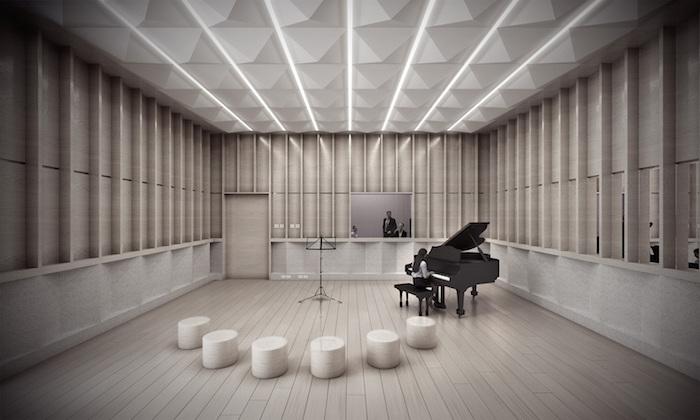 Universidad de Los Andres, nuevo estudio de grabación diseñado por WSDG en Bogota, Colombia