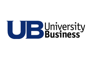University Business Magazine Logo. UB provides cutting-edge coverage of education news, technology, academics, facilities management, etc.