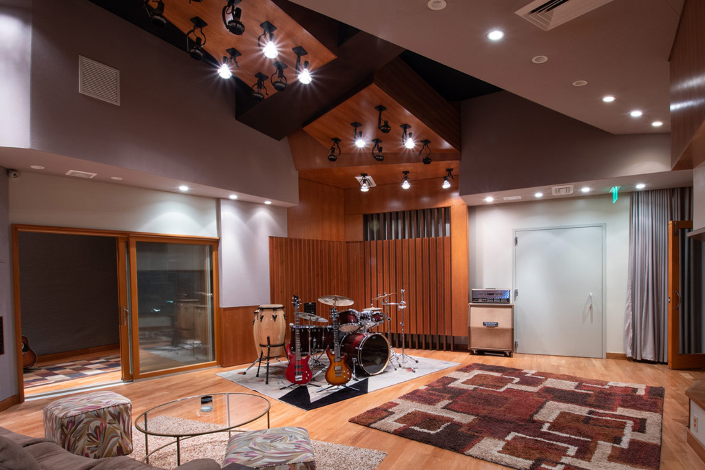 Former Thomas Crown Studio owned by Timbaland, Virginia Beach Recording Studio is a is a spacious 6,756 square ft. two-story 'destination studio' owned by Josh Haddad and designed by WSDG. One of the best recording studios in the world, where artist such as Pharrell, Kanye West, Beyonce and Justin Timberlake record. Live Room.