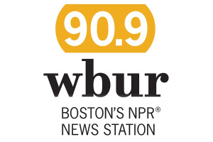 WBUR 90.0 Boston NPR News Station Logo