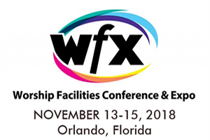 WFX Conference and Expo 2018 in Orlando, FL. WSDG attending this conference. Religion, Ministry, Worship.