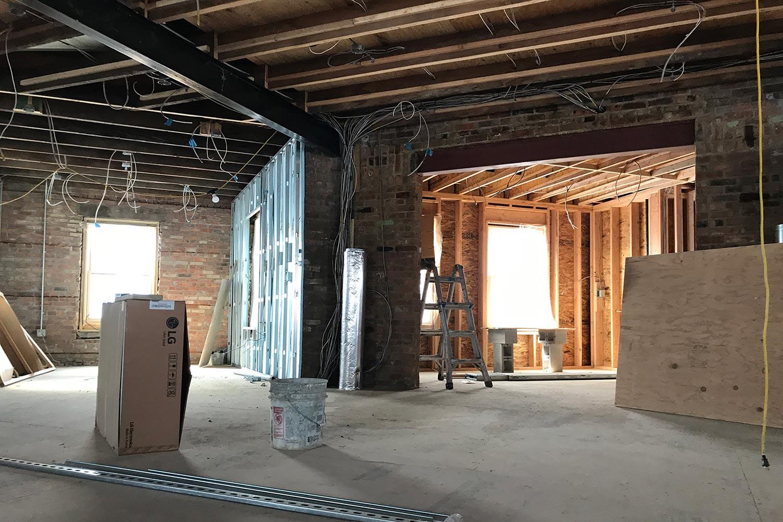 Radio Kingston WKNY Construction Phase 2.