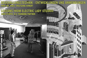 WSDG Symposium for Acoustics and AV Media Technology by John Storyk and Prof. Dr. Wolfgang Anhert