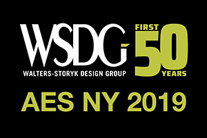 WSDG Personnel gave 3 audio/acoustics lectures at AES 2019 in New York City. Studio Design, Podcast Studios, New Development in Acoustics and more. Star guests.