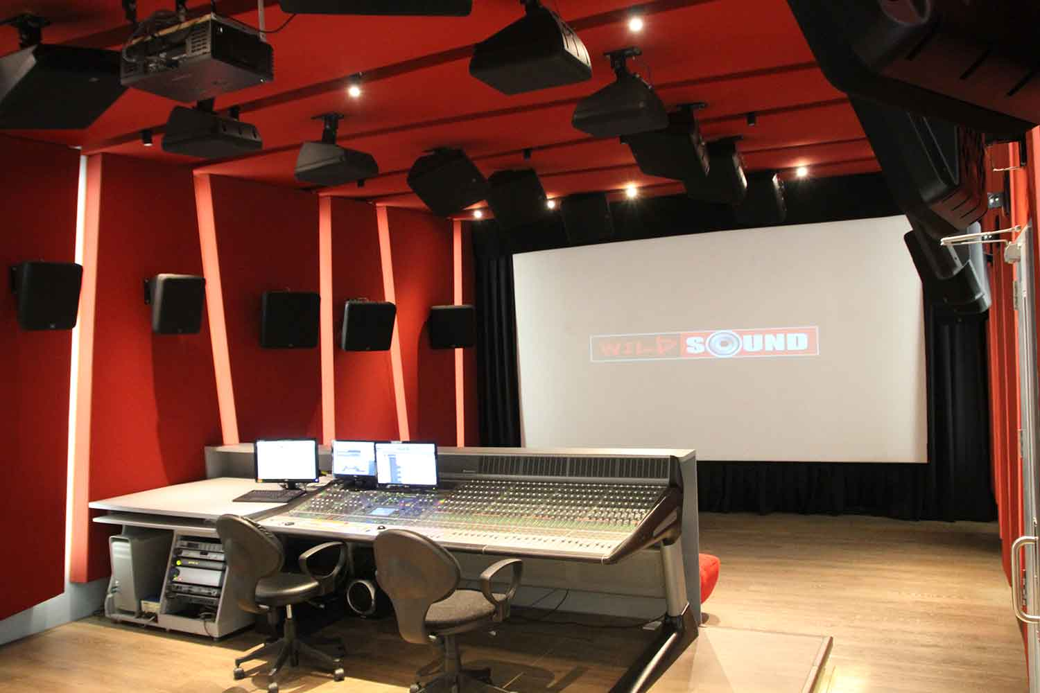Superb Recording Studio Design Archives Wsdg Largest Home Design Picture Inspirations Pitcheantrous