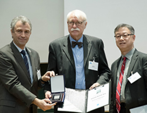 WSDG's Wolfgang Ahnert Receives Helmholtz Medal Award