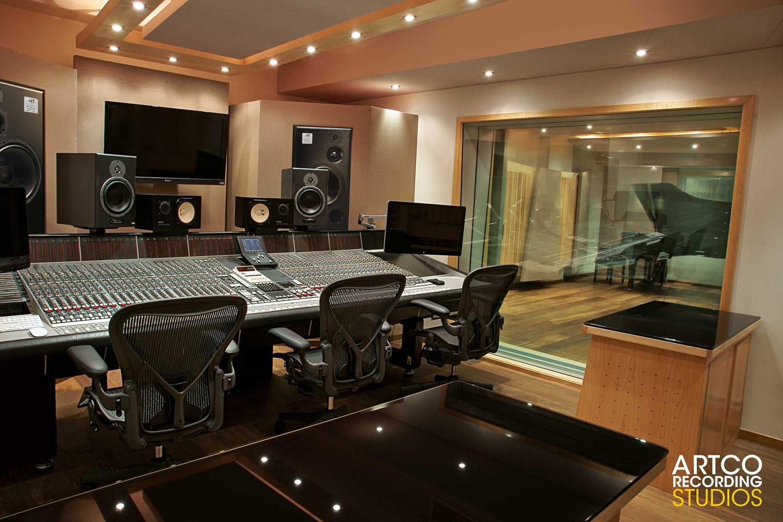 Interior design home recording studio - Artco Recording Studios