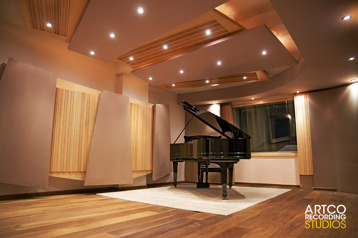 Amazing Artco Recording Studios Wsdg Largest Home Design Picture Inspirations Pitcheantrous
