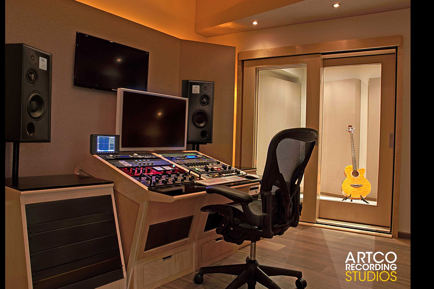 Outstanding Artco Recording Studios Wsdg Largest Home Design Picture Inspirations Pitcheantrous