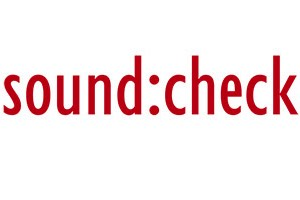 SoundCheck Logo Oficial. SoundCheck Official Logo.